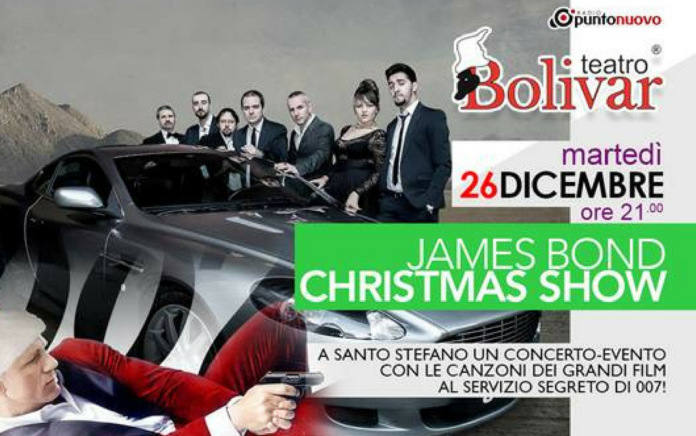 james bond christmas show