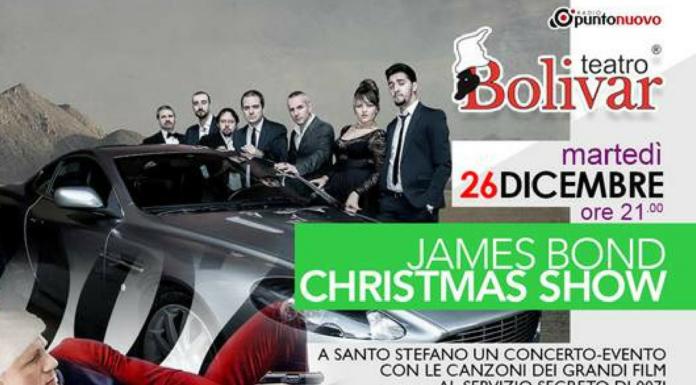 james bond christmas show