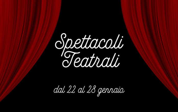 calendario spettacoli teatrali